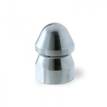 """Ugello Testa Tonda Ø60mm da 1"""" 1/4"""" F in Acciaio con inserti in ceramica"""