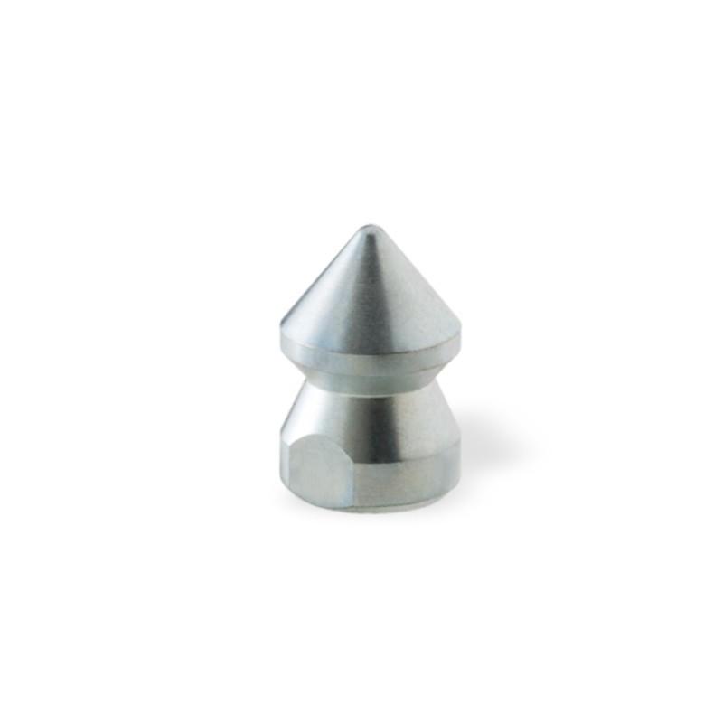 """Ugello Testa Conica Ø18mm da 1/4"""" in Acciaio per stasare tubazioni domestiche"""