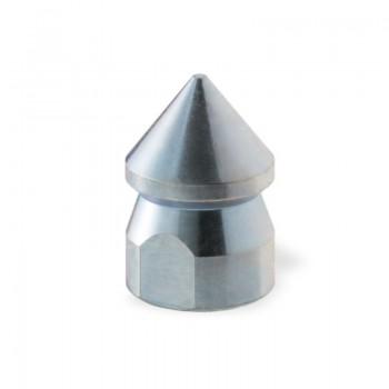 """Ugello Testa Conica Ø20mm da 3/8"""" in Acciaio per rimozione di residui oleosi"""