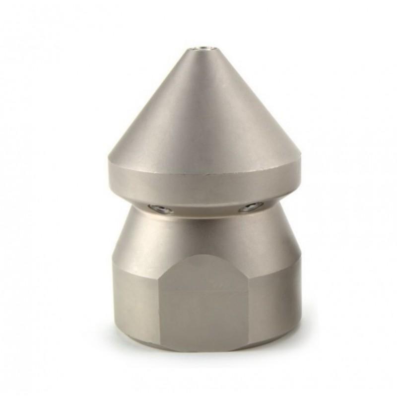Ugello a testa conica per pompe alta pressione spurgo pozzi neri e disostruzione fognature