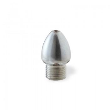 """Ugello Ovoidale (ugello a uovo) Ø32mm da 1/2"""" M in INOX"""