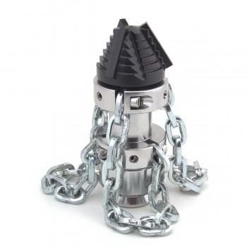 Ugelli e ugello a catena con catene per spurgo pompe alta pressione