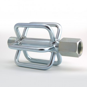 Guide per centrare ugelli dentro la tubazione. Posizionare ugello al centro del diametro della tubazione