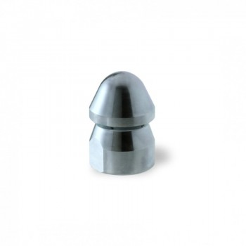 "Ugello Testa Tonda Ø28mm da 1/2"" in Acciaio"