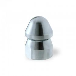 Ugelli per spurgo a testa tonda per lo spurgo delle tubazioni domestiche e fognarie